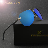 KINGSEVEN Aluminum Magnesium Polarized Sunglasses Men Driver Mirror Sun  glasses Male Fishing Female Eyewear For Men 68cf1ae9c3