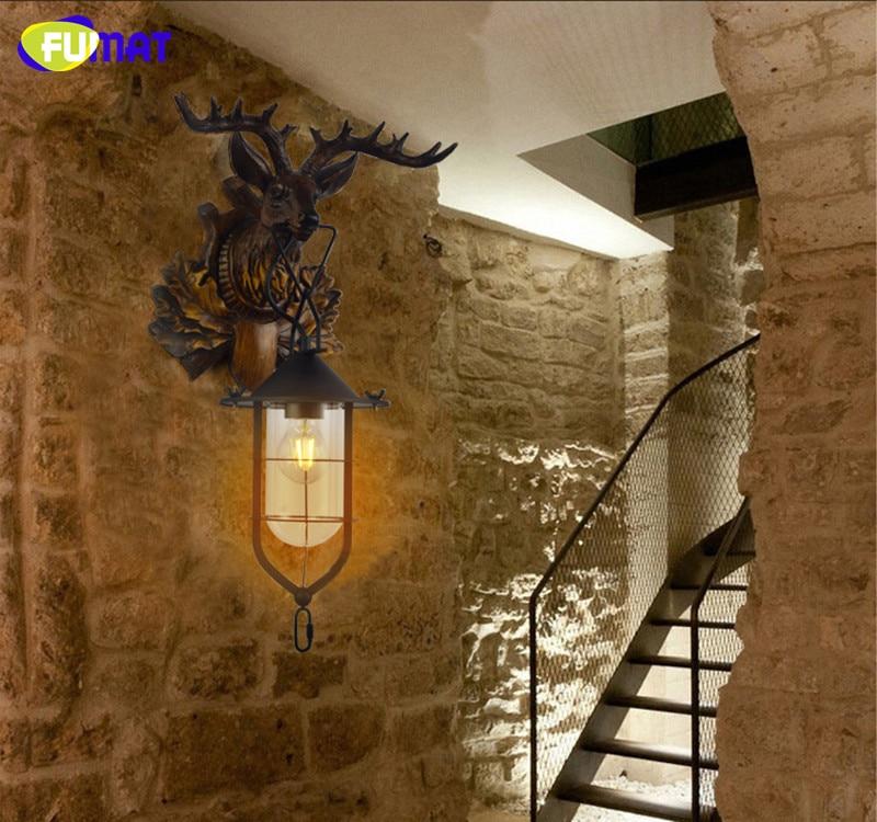 Deer Head Wall Lamp 13