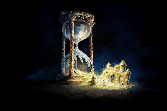 Resultado de imagen de reloj de arena arte