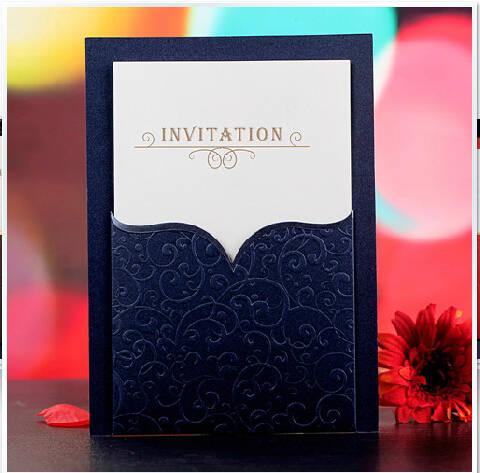 41 8 10 De Descuento Impresión Gratuita 30 Unids Lote De Invitaciones Personalizadas Tarjeta De Invitación De Boda Personalizada 3 Colores De