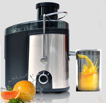 fast shipping New Stainless Steel Automatic Slow Juicer Fruit Juice Extractor Squeezer of Kitchen Appliances