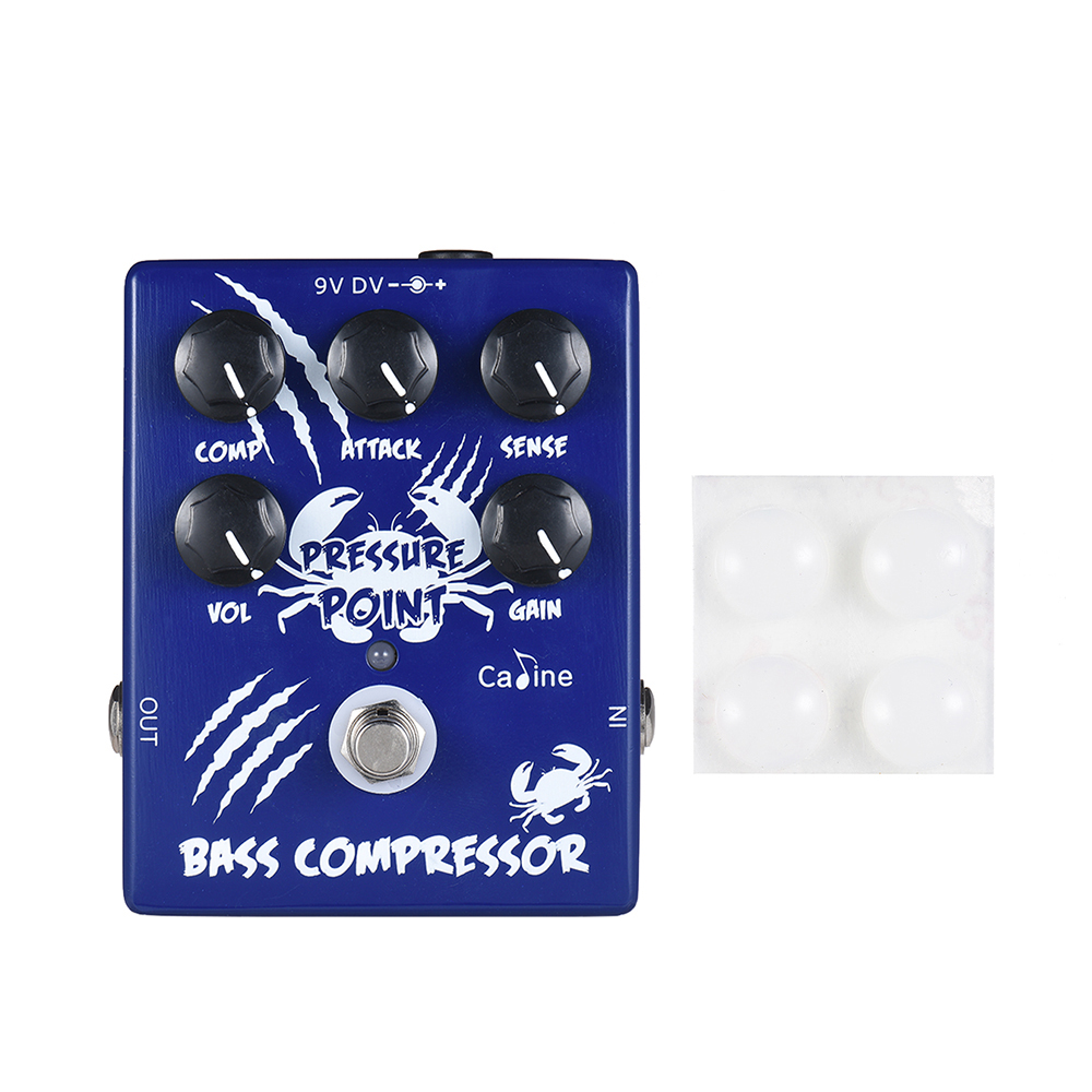 Hot Sale Caline CP-45 Bass Compressor Bass Effect Pedal Aluminum Alloy With True BypassHot Sale Caline CP-45 Bass Compressor Bass Effect Pedal Aluminum Alloy With True Bypass
