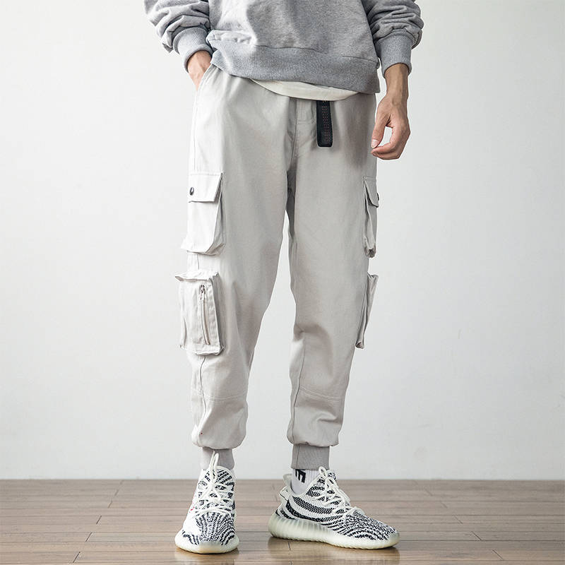 Men Cargo Pants Streetwear Fashion Hip Hop Pant Casual Pants Male Harem Trousers Jogger Sweatpants Fashion Men Pants Streetwear