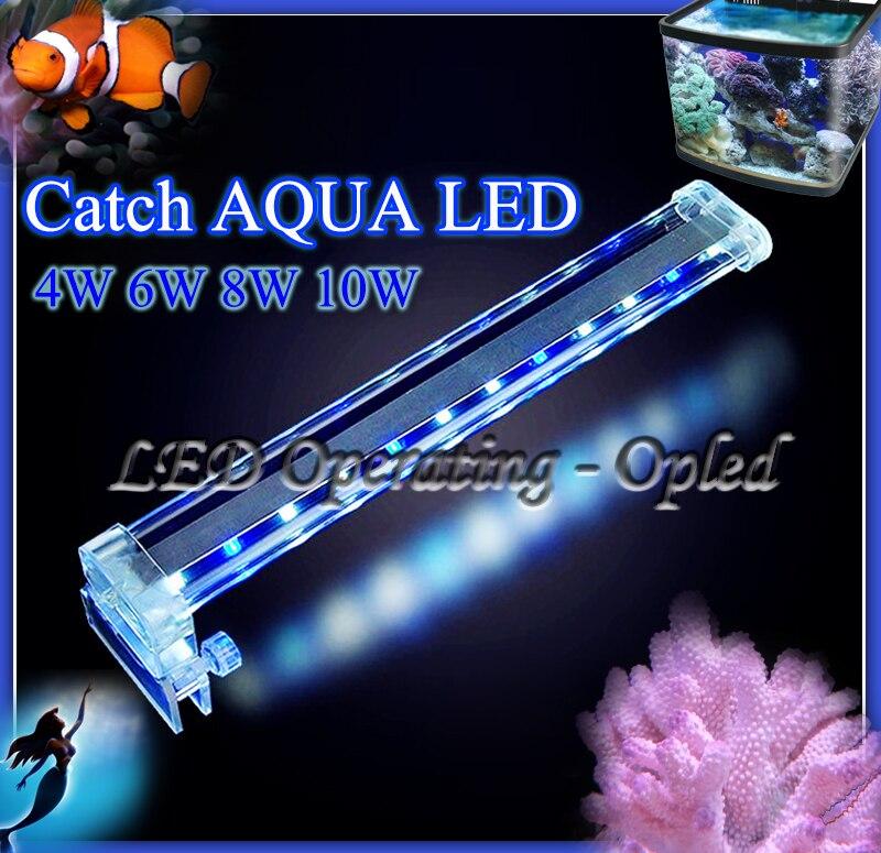 super crystal led aquarium licht clip op led lamp led aquarium verlichtingsarmaturen voor koraalrif aquarium clip tank led aqua in super crystal led