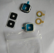 Wholesale 50pcs/lot New Real Camera Glass Lens Cover For Samsung Galaxy A7 A700 Camera Lens + Bezel + Sticker free shipping