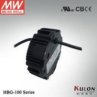 Meanwell constant current LED driver HBG-100-24 96W 4A 24V PFC LED power supply 3 in 1 dimmingDALI IP67 IP65