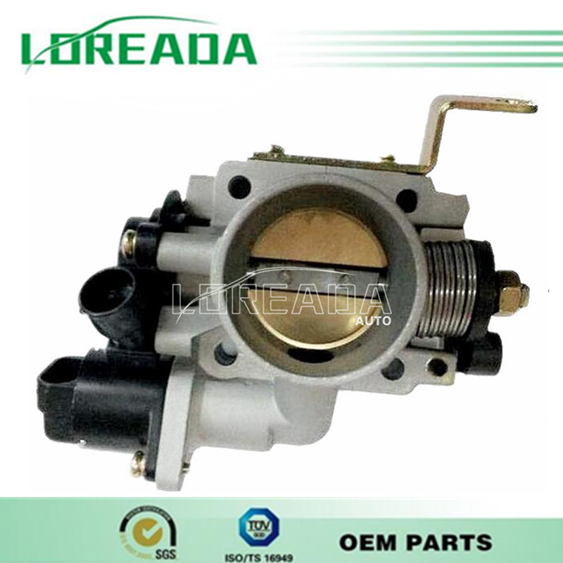 Newest! Genuine Throttle body  for HAFEI MINGYI/XIAOBAWANG 465QA Engine Delphi  System  Diameter 40mm  with Sensor and IACA brand new orignial throttle body for jac srv jac rine delphi system bore size 55mm 100