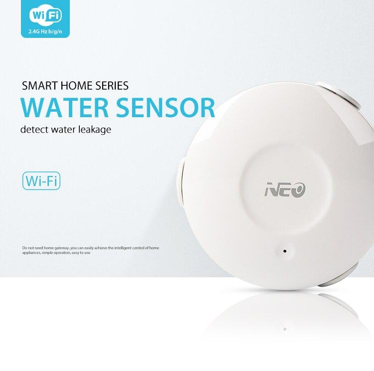 цены на COOLCAM Smart WiFi Water/Flood Sensor Leak Detector Alarm Sensor and App Notification Alerts sn:NAS-WS02W в интернет-магазинах