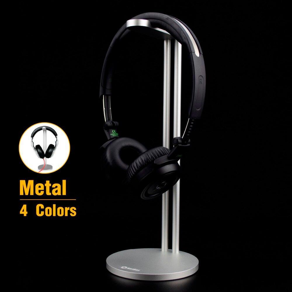 imágenes para 2016 de Alta Calidad De Aluminio Del Sostenedor Del Soporte de Auriculares Auricular Percha, Soporte de metal Para Auriculares de Moda Pantalla