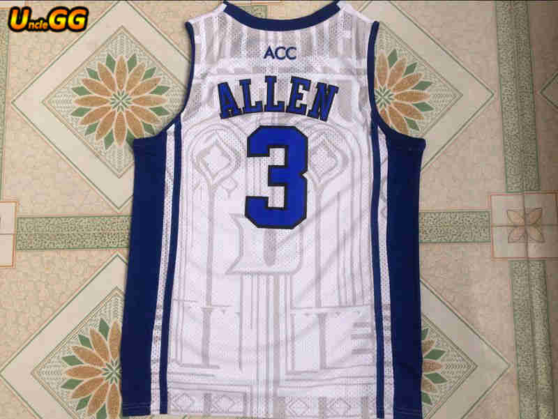 meet 2978d ca0d3 Uncle GG Mens #3 Grayson Allen Jersey College Cheap Throwback Basketball  Jersey Retro Embroidered Basketball Shirts Vest For Men-in Basketball  Jerseys ...