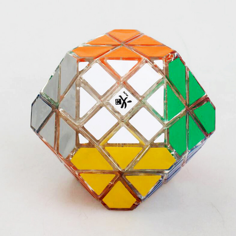 Dayan Gem Cube Strange Shape Speed Square Stress  Magic Cube Educational Brain Teaser Puzzle Professinal Cube Toy for Children moyu moyan the devils eye ii cube puzzle magic cube brain teaser educational toy