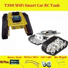 DOIT Wireless WiFi RC Full Metal Tank Platform T300 from ESPduino Development Kit compatible with Arduino DIY RC Toy