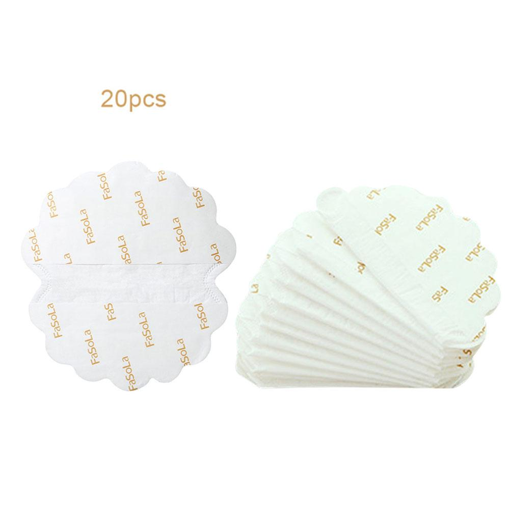 20PCS Underarm Ultrathin Absorbent Pads Summer Disposable Armpit Sweat Pad Anti Perspiration Body Cleaning Dry Pads Deodorant