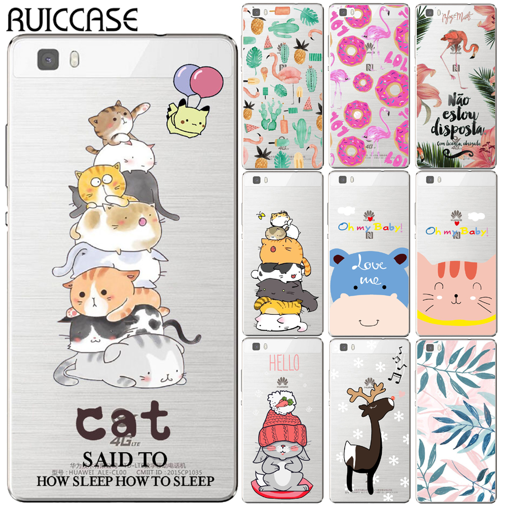 Oh My Baby Rabbit Deer Case For Coque Huawei P8 P9 P10 P20 Lite Plus Mate 10 Pro Y5 Y6 II Y3 Y7 2017 Honor 9 6X 7X Cartoon Cover