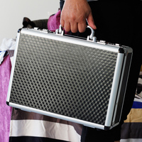 Aluminum Tool Case Suitcase Toolbox Password Box File Box Impact Resistant Safety Case Equipment Camera Case