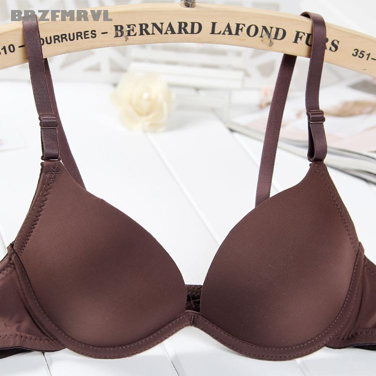 Hot Intimates push bra gather breast sexy bra small chest cute support bra underwire sex lovely bra boost chest brassiere