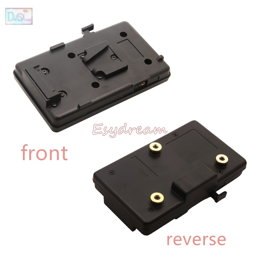 Battery Converter Adapter Plate for Sony V-Mount IDX Eng and Anton Bauer Gold Mount a gp s anton bauer gold mount for sony idx eng v mount dv hdv battery converter adapter plate a gp s for panasonic jvc video