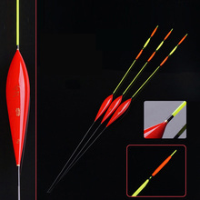 Big Buoyancy Fishing Float 1-3# Balsa Material With Conspicuous Drift Tail Tackle