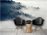 3d Wallpaper For Room Ink Fairyland Mountain Background Wall Bathroom 3d Wallpaper 3d Bathroom Wallpaper