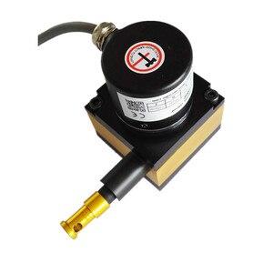 CALT 500 мм Диапазон отслеживания линейное положение струнный потенциометр датчик перемещения провода