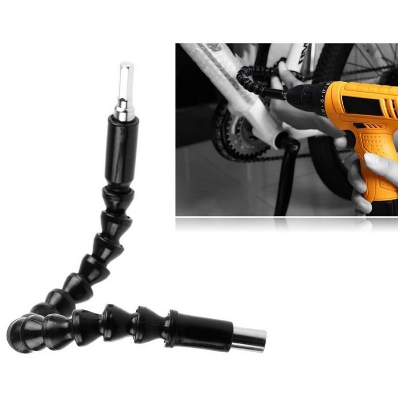 1 PC 290mm Bits de eje flexible Destornillador de extensión Soporte de broca Conectar enlace para taladro electrónico VEN44 P40