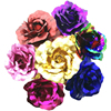 Valentine's Day Gift Foil Plated Rose Gold Rose Flower lover's Rose artificial flower Wedding Decoration Red Pink Purple Blue