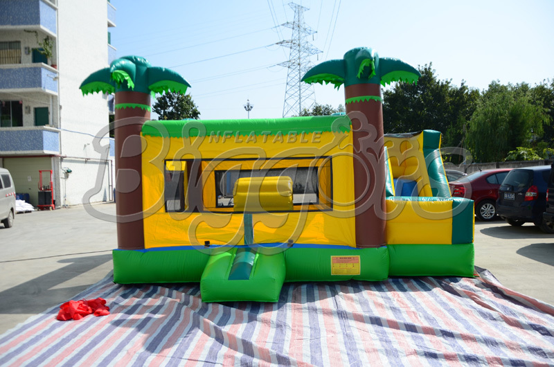 FREE SHIPPING BY SEA Hot Sale Commercial Inflatable Bouncer Slide Jumping House Inflatable Toy free shipping by sea pvc commercial inflatable slide jumping slide with double lane for sale