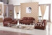 Darmowa Wysyłka Wysokiej jakości sofa, made in z top grain leather w kształcie litery L kanapa narożna, które szezlong, p racy drewnianej ramie kanapa