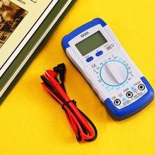 Digital Multimeter Electronic Measuring Instrument Electrical LCD AC DC Voltmeter Ohmmeter Test Multitester Practical Accessorie
