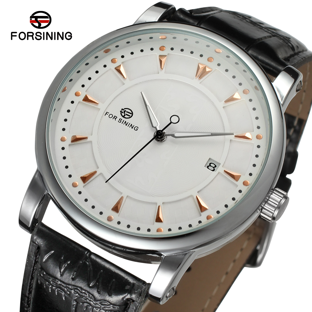 цены FORSINING Men's Watch Fashion Watches Men Top Quality Automatic Men Watch Factory Shop Free Shipping FSG8051M3S6