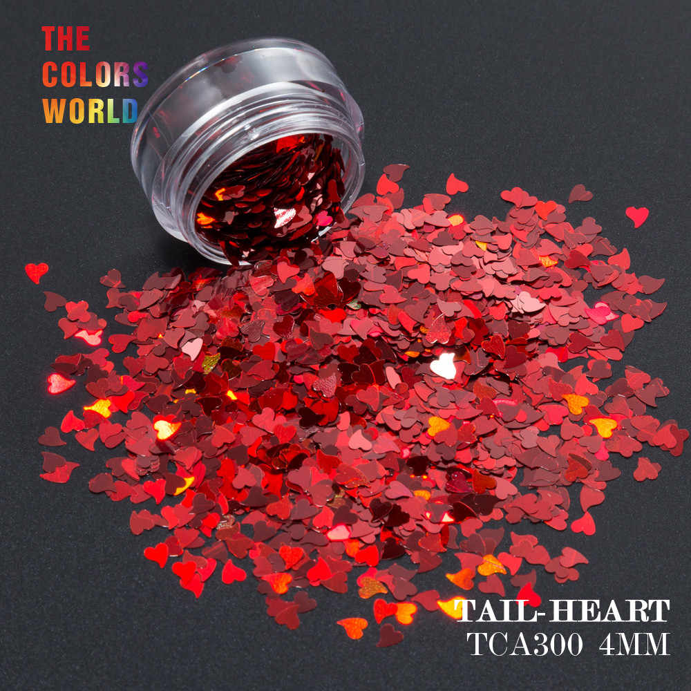 TINY 3mm RED HEARTS GLITTER chunky bling FESTIVAL face body nail art 20g bag