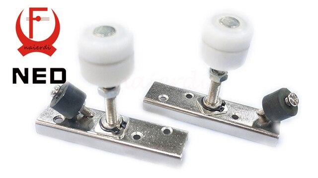 NED Universal wheel Folding Sliding Door Sliding door roller set ...