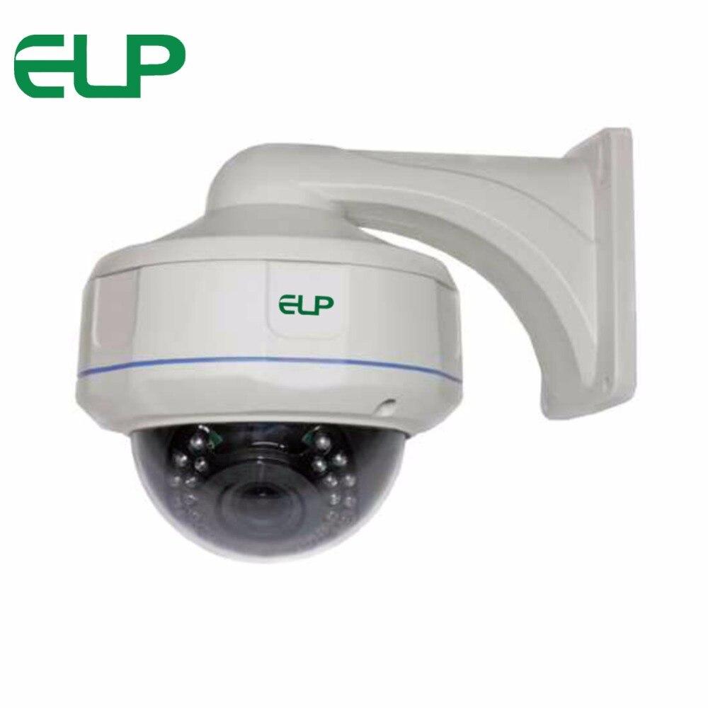 31pcs IR LED 1/3CMOS 1200TVL Waterproof Dome cctv analog Camera with 2.8-12mm varifocal lens ELP-VI8612 hot new produc waterproof cmos 1200tvl analog camera ir led day