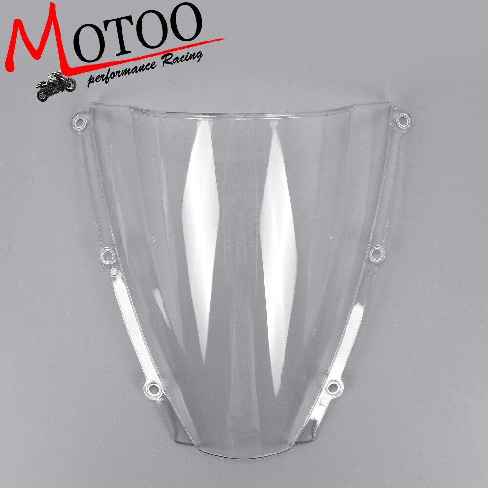 Motoo -Windshield WindScreen Double Bubble for HONDA CBR600RR 2003 2004 utensils moxibustion box moxa tank querysystem cauterize