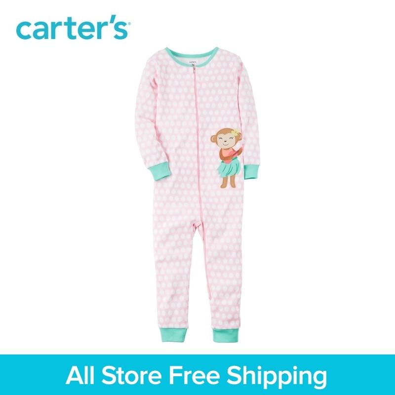 Carter de 1 pcs bébé 1-Pièce Ajustement serré Coton Sans Pied PJs 331G342, vendu par Carter de Chine boutique officielle