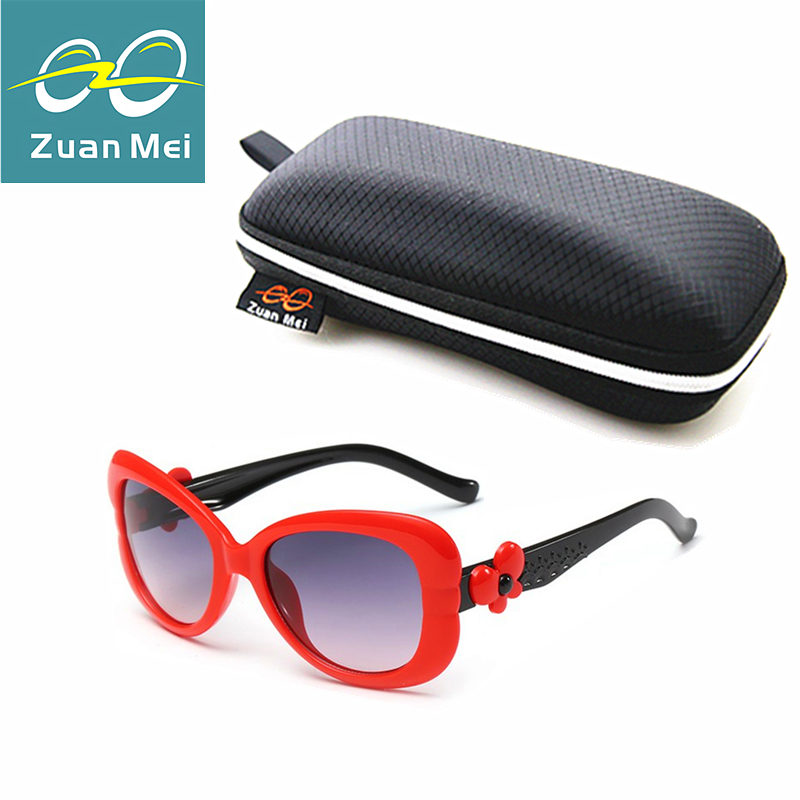 Zuan Mei Brand Kids Sunglasses Grils Lovely Baby Sunglasses Children Glasses Sun Glasses For Boys Gafas De Sol Ninos ZM6136