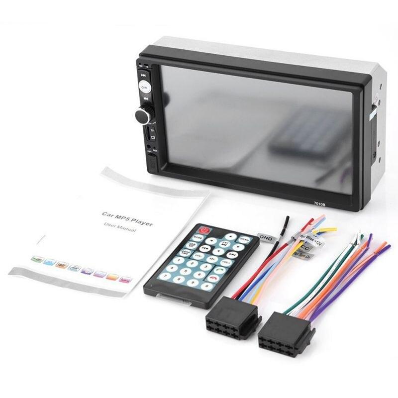 2 din Car Audio Stereo Radio 7010B Multimedia Player 7 inch HD MP5 Touch Screen Digital Display Bluetooth USB FM Autoradio недорого