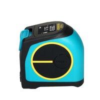 KKMOON 2 in 1 Digital Laser Measure With LCD Display Measuring Tape Laser Rangefinder Measuring Tools