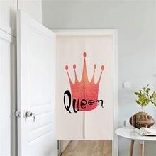 XIAOKENAI 85x120cm 85x150cm 90cmx180cm Decorative Door Curtain Doorway Curtains Home Decor Divider For Bedroom  Flamingo Queen