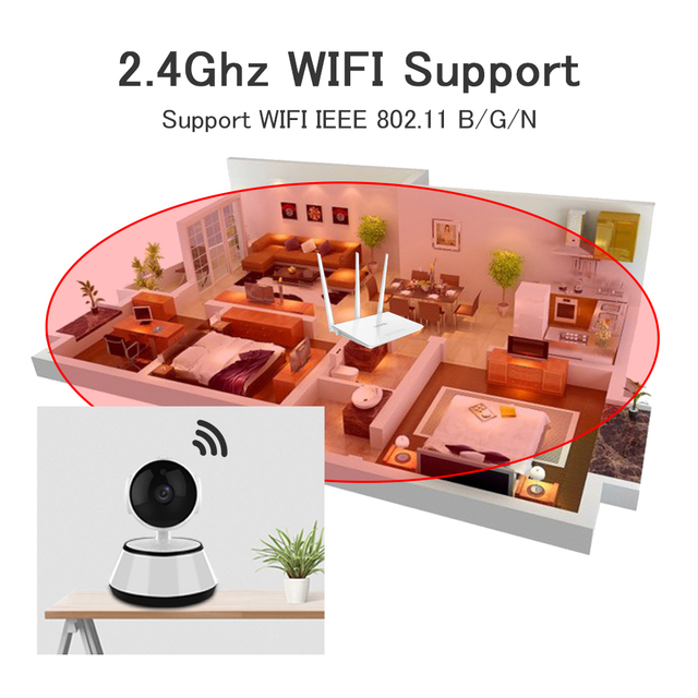 Home Security IP Camera WiFi Wireless Mini Network Camera Video Surveillance 720P Night Vision CCTV Camera Wifi Baby Monitor IR 1