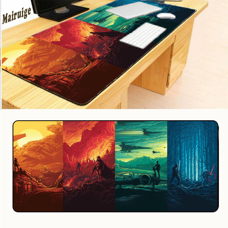 Mairuige Free Shipping Large Overlock Star Wars Battlefront Best Mouse Pad for Big Size  ...