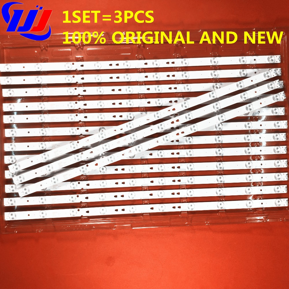 LED315D10-07(B) 30331510219 1set=3pcs Led Backlight For LE32B310N 32E3000b 32E3000C LC320DXJ