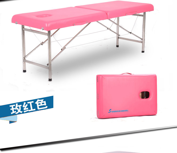 Professional Folding Portable Spa Massage Tables Suitable For Massage 11