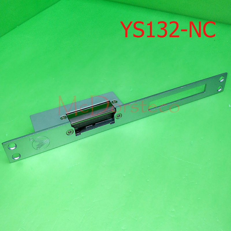 yli Best Quality Long-type Electric Strike Lock Fail Safe Electric Door Lock Access Control Lock YS132NC access control electric strike lock nc standard type electric strike yli ys132no fail safe strike lock high quality