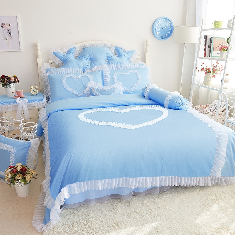 Online buy wholesale girls double beds from china girls double beds wholesalers - Twin size princess bed set ...