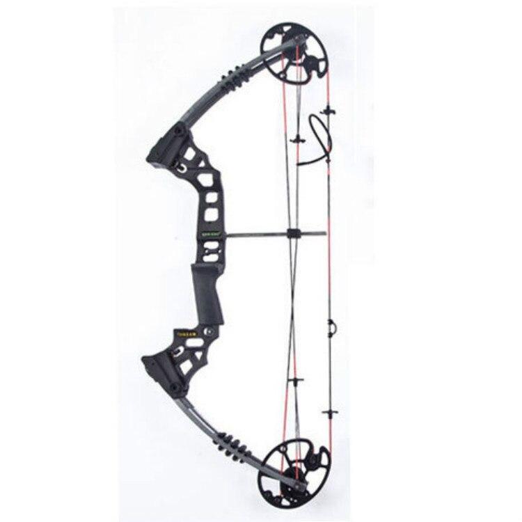Arc composé noir arc nu arc composé et flèche tir à l'arc 20-70 livres