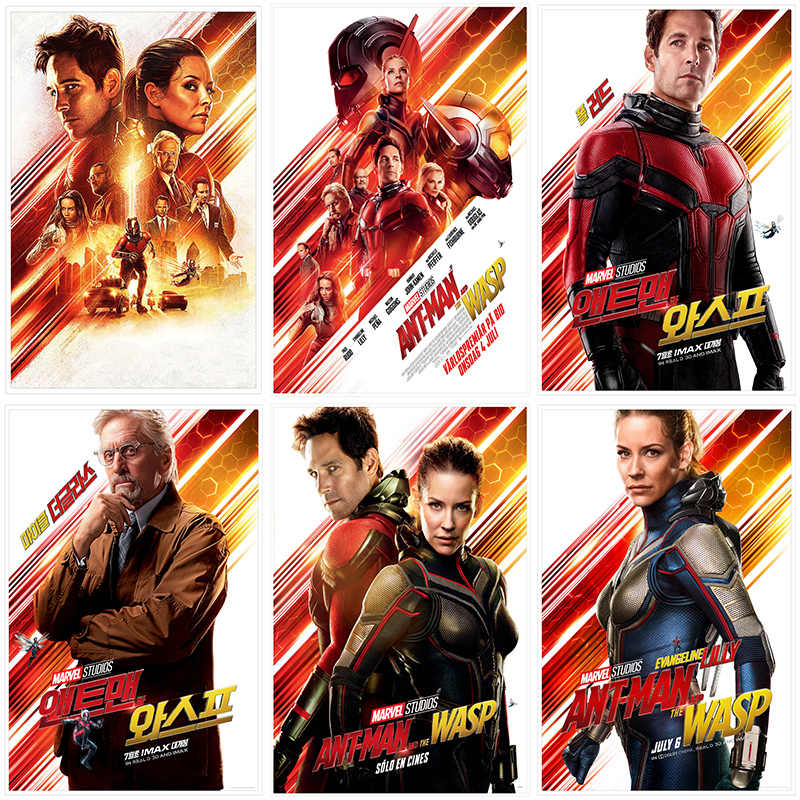 Detail Feedback Questions About Ant Man And The Wasp Posters White