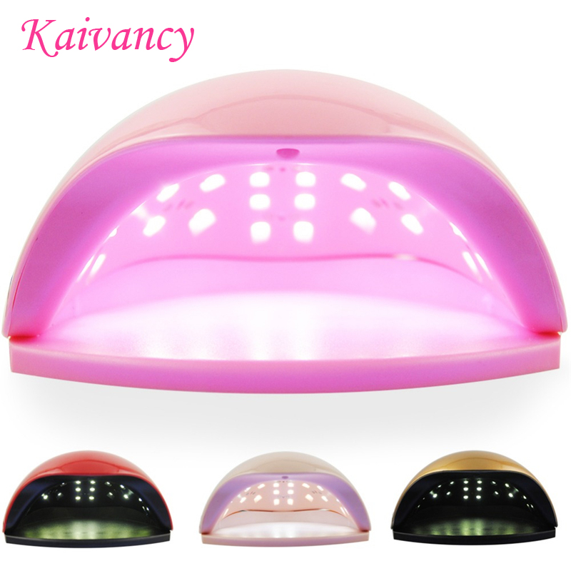 Kaivancy lamp for nails Multi-color Nail Dryer LED Lamp nail gel salon nail designs Art Tools dry quickly 48W dryer lamp nail salon 1sheet summer ocean designs