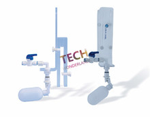 On sale AQUA EXCEL Top Off Valve Telescopic Acrylic Sheet + RO Float + RO Pipe For Marine Coral Fish Tank