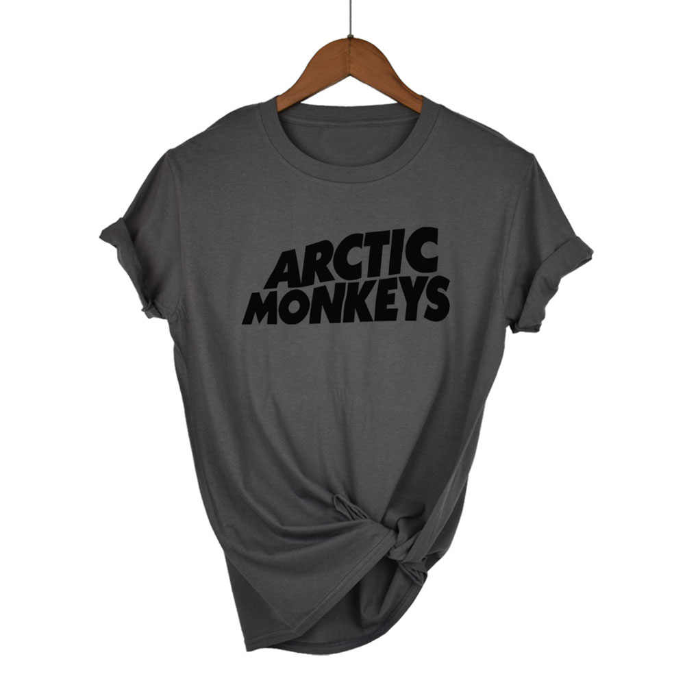 Arctic Monkeys Sound Wave T Shirt camiseta superior banda de Rock concierto-Album camiseta alta camiseta Unisex más tamaño y Color-A112